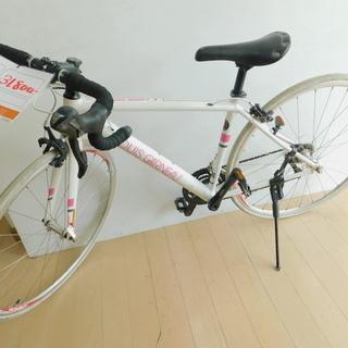 8月限定【エコプラス小倉南店】ルイガノ ロードバイク 白 2×9...