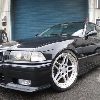 BMW!E36 3シリーズ!5MT!車高調!ワンオフマフラ…