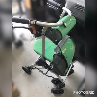 幸和製作所/TacaoF 緑色シルバーカー