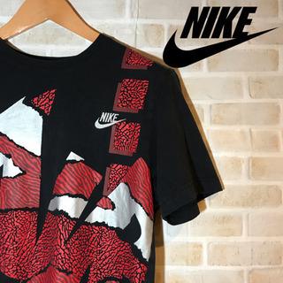 NIKE  AIR ナイキ エアー Tシャツ ビッグロゴ  刺繍ロゴ
