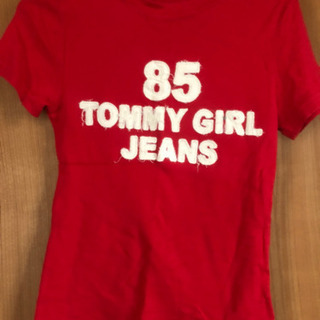 tommy girl    赤