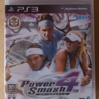 【新品未開封】 パワースマッシュ4 PS3 通常版