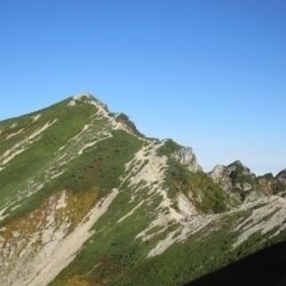 山登りハイキング仲間会員募集2019/9/26(木)北アルプス入...