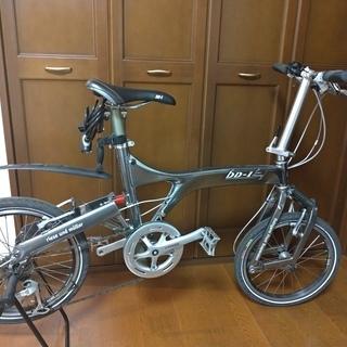 【中古】小径車(ミニベロ) 折り畳み自転車 R&M BD-1 カプレオ