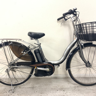 新基準ヤマハ パスナチュラ8.9Ahリチウム電動自転車中古