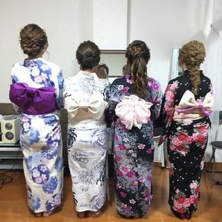 祭り浴衣着付けヘアセット期間限定特別料金