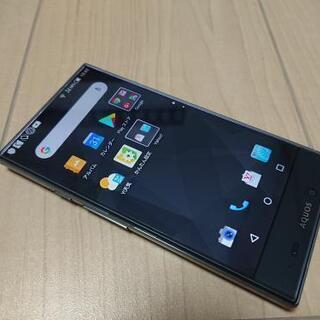 シャープ スマートフォン 5.2インチ 美品