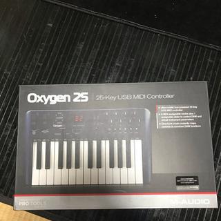 m-audio oxygen25