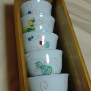 湯飲み (花ひょうたん) 5客セット