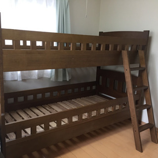 二段ベッド 3000円でお譲りします‼︎