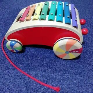 ジャノー 動く木のおもちゃ 鉄琴