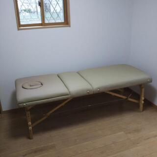 施術用折り畳み式ベッド ¥2,000