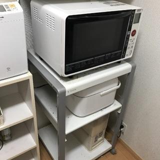 電子レンジテーブル台