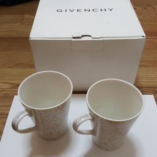 GIVENCHY(ジバンシー)食器 豹柄 モーニングペアセット