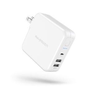 【新品・未使用】モバイルバッテリー 搭載 USB 充電器 6700...