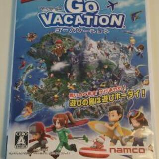 Wiiソフト GO VACATION ゴーバケーション