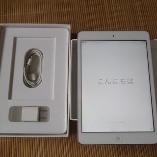 iPad mini 16G Wi-Fiモデル シルバー MD53...