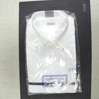 新品未開封 !!! 白 半袖カッターシャツ Lサイズ 衿回り 4...