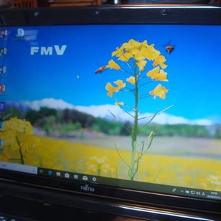 ノートパソコン Fujitsu AH530/2B 新品SSD120...