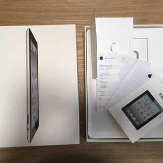 Apple 【箱のみ】iPad2 Wi-Fi (MC774J/A...