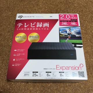 TV録画用HDD  2TB