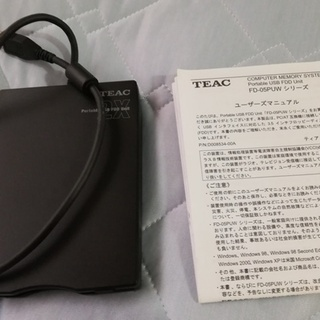 TEAC 外付けフロッピーディスク