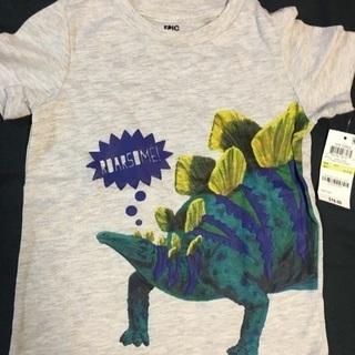 値下げしました!未使用 ボーイズ Tシャツ サイズ4T(90-100)
