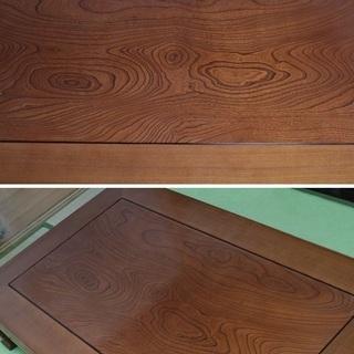 Karimoku カリモク 高級座卓 座敷机 テーブル 座敷テーブル 和モダン 和室 旅館 無垢材 - 家具
