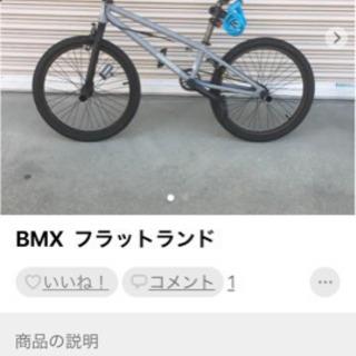 BMX  フラットランド