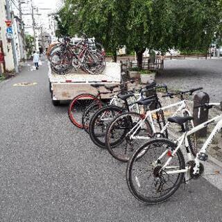 自転車のメンテナンス教えます