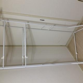 洗濯機の上のデットスペース用ラック