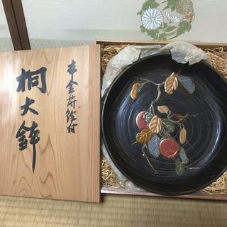 昭和レトロ 桐大鉢 新品未使用