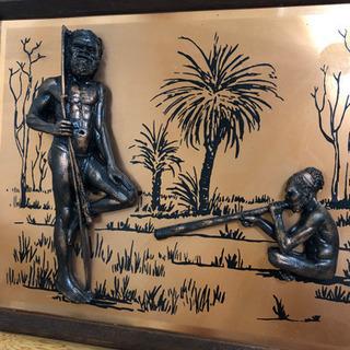 海外  お土産  ヴィンテージ  銅板 🐣🐣🐣🐸
