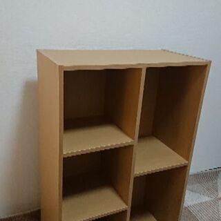 本棚5マス29.5x59x89(奥行きx横x高さ)