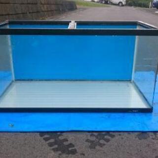 90㎝水槽(コトブキ)、専用照明(蛍光灯2本)×2