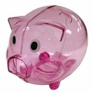 セリア 豚貯金箱