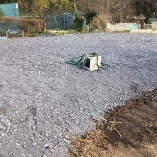 砂利敷 資材置き場 中古車置き場に最適です。 なんと水道付きです...