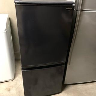 2ドア 冷凍冷蔵庫 シャープ SJ-14S 2010年式