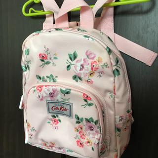 美品♡キャスキッドソンのピンク花柄リュック