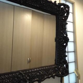 鏡 黒 光沢あり