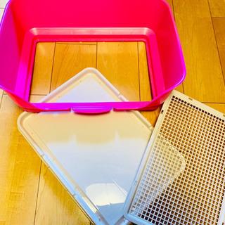 犬猫用 ハーフカバー&オープンタイプ  トイレ