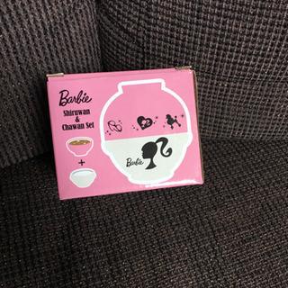 未使用品 Barbie<バービー> 汁椀&茶碗セット