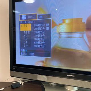 【差し上げます0円】日立製プラズマテレビ42インチ