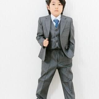 子供用スーツ5点セット(グレー)