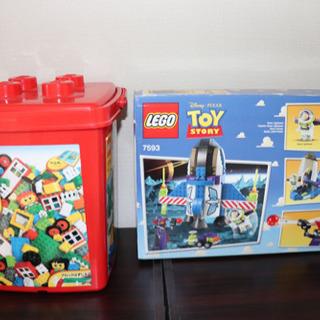 レゴ 基本セット 赤いバケツ 7616