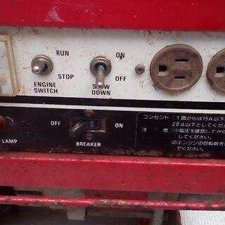 20Aガソリン発電機7千円売