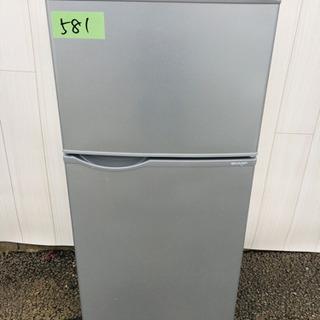 581番 SHARP✨2015年製😳ノンフロン冷凍冷蔵庫❄️SJ-...