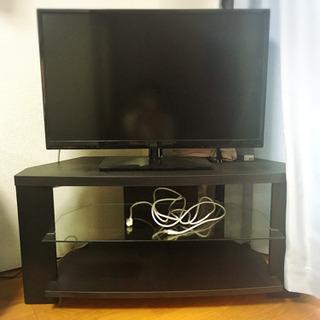値下げ可能!32v型ハイビジョン液晶テレビ と テレビボード