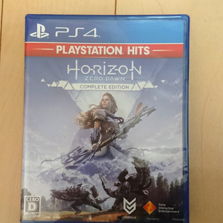 【未開封新品PS4ソフト】Horizon Zero Dawn C...