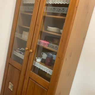 かわいい食器棚お譲りします